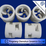 Embalagem química Ceramic Cross-Partition Ring for Drying, Cooling Tower