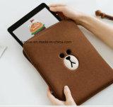 A tampa/caso relativos à promoção do iPad do neopreno do projeto dos jovens, fábrica feita sob encomenda do logotipo faz a luva do portátil com Zipper