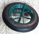 rotella solida della gomma di gomma 14X4 per la carriola