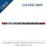 55 ámbar blanco ligero impermeable de la barra 300W de la sola fila campo a través Truck/SUV/ATV LED de la pulgada