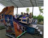 Paseos en los juegos de jardín de niños de 360 grados rotativa moderna Mini coche volador Ride