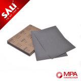 Feuille de polissage de papier sablé de carbure de silicium de papier sablé de véhicule de qualité