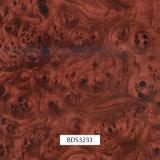 1mwidthドア項目および車の部品Bds3325のための木パターン水転送の印刷のフィルム
