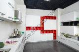 Modules de cuisine en bois de meubles à la maison modernes de fournisseur de Module de cuisine de N&L avec le panneau de cpc