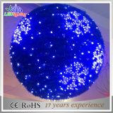 Wasserdichte Weihnachtskugel der Belüftung-Girlande-LED helle der Dekoration-3D