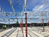 Azotea termal incombustible 1314 del pabellón de la estructura de acero del panel de PIR