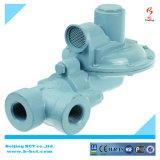 clapet à gaz en aluminium de corps, régulateur argenté BCTNRV01 de gaz de couleur