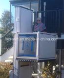 Discapacitados elevador de silla de ruedas hidráulicas pequeña casa Levante