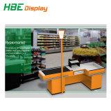 Supermercado minorista efectivo eléctrica mostrador