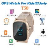 Personal de GPS adulto reloj Tracker con dos vías de comunicación (T58)