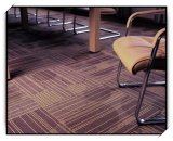Tuiles, tuiles de tapis, support pp, tuiles en nylon de PVC/PU