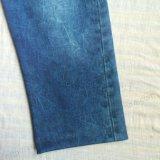Vêtements Classic Sport Pant en tissu Interlock avec transfert Denim Printing Sq-6210