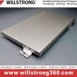 Painel de alumínio sólido para o material do painel de parede