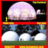 Удалите прозрачный белый ПВХ 2018 новых геодезических купол палатки