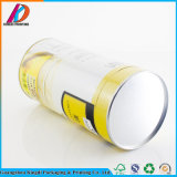 Caja de té de la Ronda Moistureproof envases de alimentos el tubo de aluminio con revestimiento interior