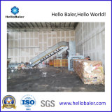 HELLOBALER elevada capacidade de máquina de reciclagem de resíduos de papel automático