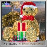 Luzes de Natal ao ar livre do diodo emissor de luz da decoração da tira da rua do feriado da chegada