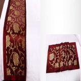 Подгонянный полиэфиром 100% шарф кровати гостиницы (DPH6199)