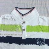 Рубашка пола мальчика зеленого цвета в детях одевая Sq-6220