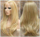 Blonded 가발 또는 가득 차있는 레이스 가발 의 가발, 레이스 가발은, 끈으로 묶는다 정면 가발 (BD-11072524)를