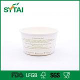 1oz à bacia de papel ou ao copo descartável de gelado do Yogurt 38oz