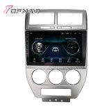 10.1inch per il riproduttore video stereo di percorso di GPS GPS di multimedia dell'autoradio del Android 9.0 della bussola 2007 della jeep
