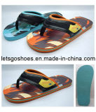 Sangle tissée EVA/PE /le caoutchouc Flip Flop Slipper (22FB042)
