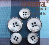 Modo Men Shirt Button con 4holes (H-1822VP-1-139LR)
