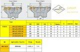 Inserto Fme02-050-A22-Sp12-04 di Cutoutil per Hardmetal d'acciaio che abbina la taglierina di macinazione standard degli strumenti