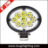 6インチの楕円形のクリー族27W LED作業ライト