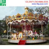 Amusement Park carousel rides, carousel rides pour la vente de luxe (BJ-CR05)