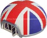 مستديرة قابل للنفخ هواء حزب خيمة مع البريطانيوّن صخر لوحيّ