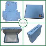 Caixa de papel do projeto com papel de embalagem Branco para dentro