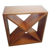 Minghou Classic Wooden Cube Wine rack for halls