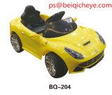 아이 차에 전기 장난감 탐