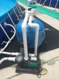 Piscina inflável do frame para o parque da água