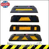 De flexibele Kurk van het Blok van het Wiel van het Parkeren van de Auto van de Verkeersveiligheid Zwarte Rubber