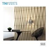 Écran 3D antibruit décoratif intérieur amical de fibre de polyester d'Eco pour le panneau de mur