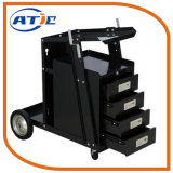 Carro portátil da ferramenta da soldadura do gabinete do trole do caminhão de mão para o armazenamento
