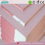 Cartón yeso decorativo/cartón yeso del Fireshield para el techo Material-15.9mm