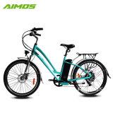 Par de alta calidad de transmisión delantera de la ciudad de bicicleta eléctrica con Batería Li-ion