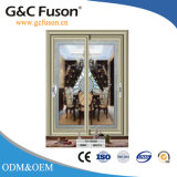 Portello scorrevole di alluminio di vetro multifunzionale per la Camera moderna