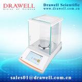Balanza electrónica de laboratorio con la densidad 0.0001g