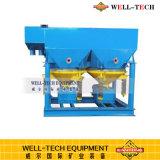 Máquina que criba de la onda Saw-Tooth eléctrica para la separación mineral
