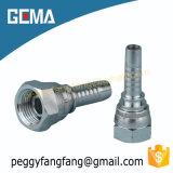 Штуцер шланга Bsp цинка стали углерода 22611 стандарта женский гидровлический для машинного оборудования