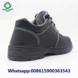 短いかかとの鋼鉄つま先PUの注入の夏の安全靴