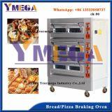 Lleno de acero inoxidable horno de pan de la máquina con hornos de diferente tamaño