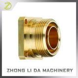 A peça de metal do eixo de latão Precision Usinagem CNC o parafuso de latão