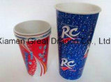 뚜껑 (PC11015)를 가진 1.5-32 온스 최신 음료 종이컵