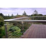 Sistema dell'inferriata della rete fissa del balcone/acciaio inossidabile/inferriata del cavo